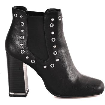 Cipők Női Bokacsizmák Gattinoni PINDL0774W Fekete