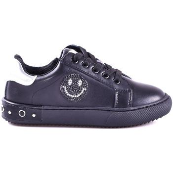 Cipők Fiú Rövid szárú edzőcipők Holalà HS0033L0002J Fekete