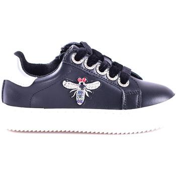 Cipők Lány Rövid szárú edzőcipők Joli JS0027L0002J Fekete