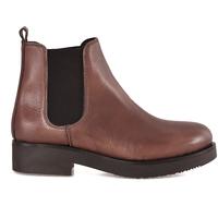 Cipők Női Bokacsizmák Mally 5535 Barna