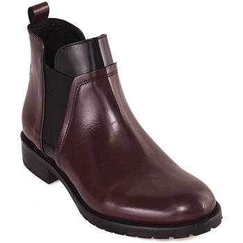 Cipők Női Bokacsizmák Mally 5948 Piros