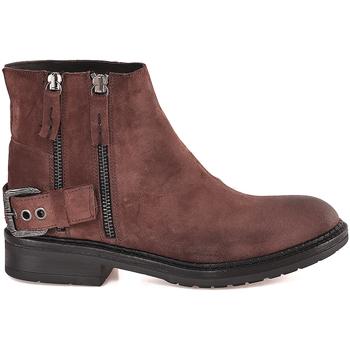Cipők Női Bokacsizmák Mally 6324 Barna