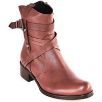 Cipők Női Bokacsizmák Mally 6431 Barna