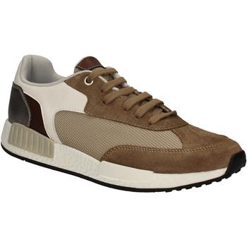 Cipők Férfi Rövid szárú edzőcipők Keys 3061 Barna