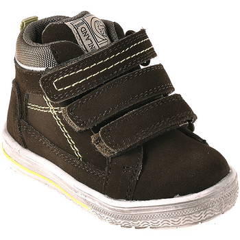 Cipők Gyerek Magas szárú edzőcipők Grunland PP0353 Zöld