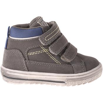 Cipők Gyerek Magas szárú edzőcipők Grunland PP0353 Szürke
