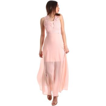 Ruhák Női Hosszú ruhák Gaudi 911FD15004 Rózsaszín