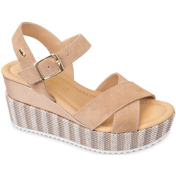 Cipők Női Szandálok / Saruk Valleverde 32435 Bézs