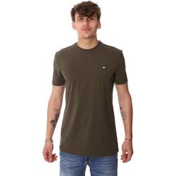 Ruhák Férfi Rövid ujjú pólók Antony Morato MMKS01737 FA120022 Zöld