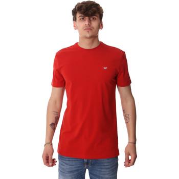 Ruhák Férfi Rövid ujjú pólók Antony Morato MMKS01737 FA120022 Piros