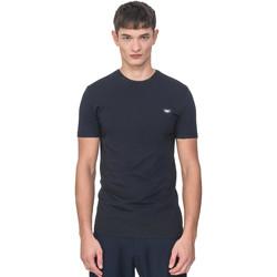 Ruhák Férfi Rövid ujjú pólók Antony Morato MMKS01737 FA120022 Kék