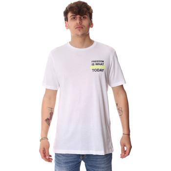 Ruhák Férfi Rövid ujjú pólók Antony Morato MMKS01786 FA100189 Fehér