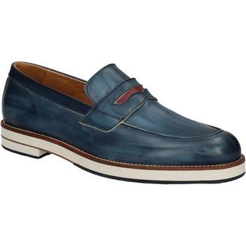 Cipők Férfi Mokkaszínek Exton 605 Kék