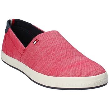 Cipők Férfi Belebújós cipők Tommy Hilfiger FM0FM01380 Piros