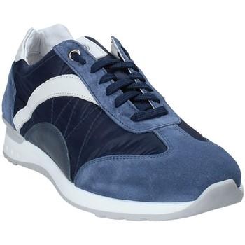 Cipők Férfi Rövid szárú edzőcipők Exton 661 Kék