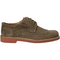 Cipők Férfi Oxford cipők Exton 9190 Barna
