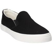 Cipők Férfi Rövid szárú edzőcipők Gas GAM810165 Fekete