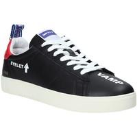 Cipők Férfi Rövid szárú edzőcipők Gas GAM914022 Fekete