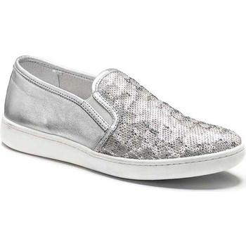 Cipők Női Belebújós cipők Keys 5051 Ezüst
