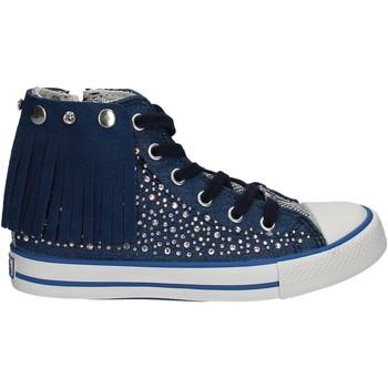 Cipők Gyerek Magas szárú edzőcipők Lulu LV010074T Kék