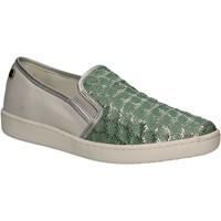 Cipők Női Belebújós cipők Keys 5051 Zöld