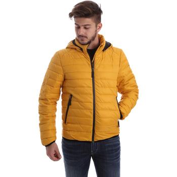 Ruhák Férfi Steppelt kabátok Byblos Blu 669501 Sárga