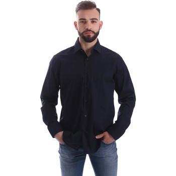 Ruhák Férfi Hosszú ujjú ingek Gmf 962250/01 Kék