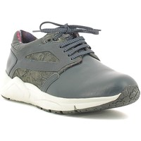 Cipők Férfi Rövid szárú edzőcipők Alberto Guardiani SU73452D Kék