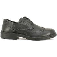 Cipők Férfi Oxford cipők Enval 6872 Fekete