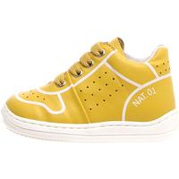 Cipők Gyerek Magas szárú edzőcipők Naturino 2013460-01-0G04 Sárga