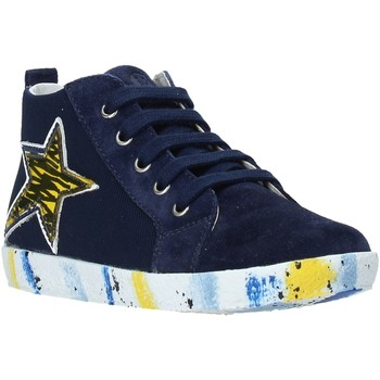 Cipők Fiú Magas szárú edzőcipők Falcotto 2013554-01-1C49 Kék