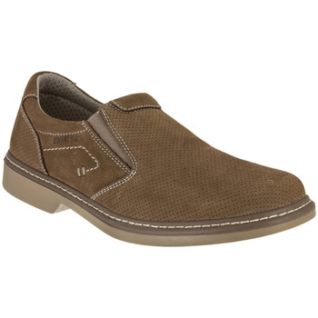 Cipők Férfi Mokkaszínek Enval 7884 Barna