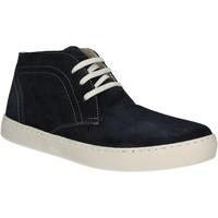 Cipők Férfi Magas szárú edzőcipők Café Noir XN601 Kék