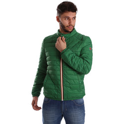 Ruhák Férfi Steppelt kabátok Gaudi 71BU35035 Zöld