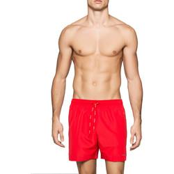 Ruhák Férfi Fürdőruhák Calvin Klein Jeans KM0KM00041 Piros