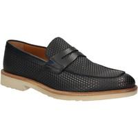 Cipők Férfi Mokkaszínek Maritan G 160771 Kék