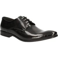 Cipők Férfi Oxford cipők Rogers 9235A Fekete