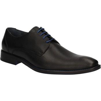 Cipők Férfi Oxford cipők Rogers 1608B Fekete