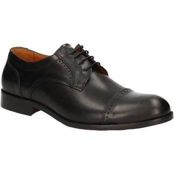 Cipők Férfi Oxford cipők Rogers 1602B Fekete