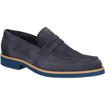 Cipők Férfi Mokkaszínek Rogers 1008B Kék