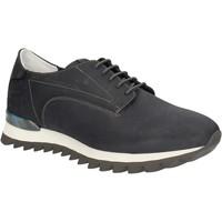 Cipők Férfi Rövid szárú edzőcipők Alberto Guardiani SU744559A Kék