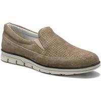 Cipők Férfi Mokkaszínek Keys 3073 Bézs