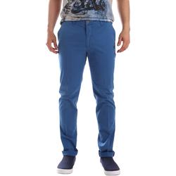 Ruhák Férfi Chino nadrágok / Carrot nadrágok Sei3sei PZVI69 7148 Kék