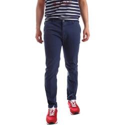 Ruhák Férfi Chino nadrágok / Carrot nadrágok Sei3sei PZV20 71341 Kék
