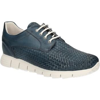 Cipők Férfi Rövid szárú edzőcipők Exton 338 Kék