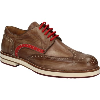 Cipők Férfi Oxford cipők Exton 609 Barna
