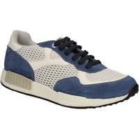 Cipők Férfi Rövid szárú edzőcipők Keys 3065 Kék