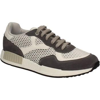 Cipők Férfi Rövid szárú edzőcipők Keys 3065 Fehér