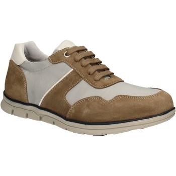 Cipők Férfi Rövid szárú edzőcipők Keys 3071 Barna