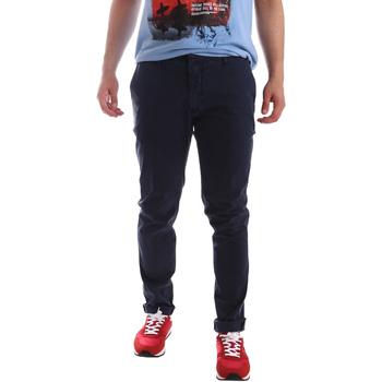Ruhák Férfi Chino nadrágok / Carrot nadrágok Sei3sei PZV156 71341 Kék